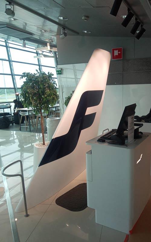 Finnair peräsin